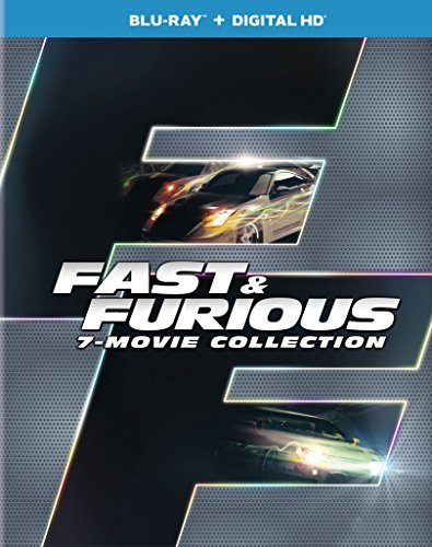 Fast & Furious 7 Movie Collection Blu Ray