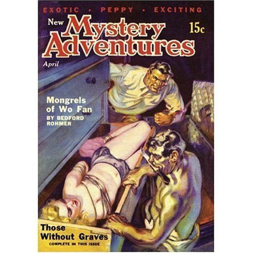 Bedford Rohmer New Mystery Adventures April 1936