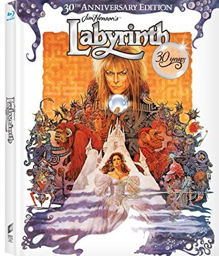 Labyrinth Bowie Connelly Blu Ray 30th Anniversary Edition