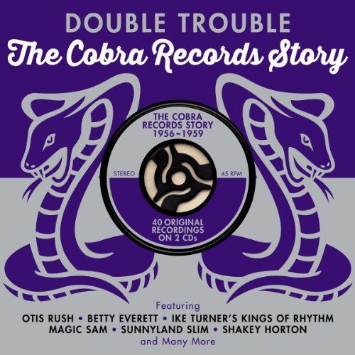 Double Trouble Cobra Records S Double Trouble Cobra Records S Import Gbr 2 CD