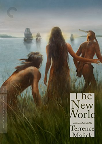 The New World Farrell Plummer Bale Kilcher DVD Criterion