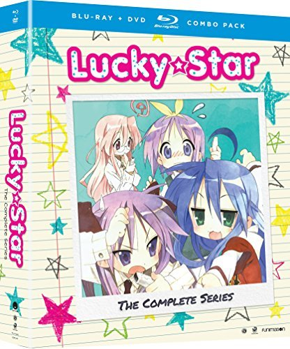 Lucky Star The Complete Series Blu Ray DVD
