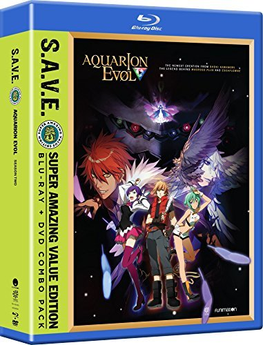 Aquarion Evol Season 2 Blu Ray
