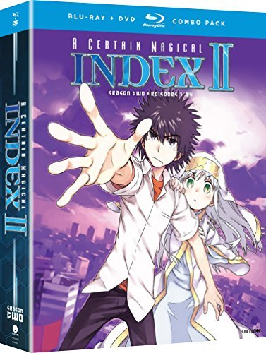 A Certain Magical Index Ii Season 2 Blu Ray DVD