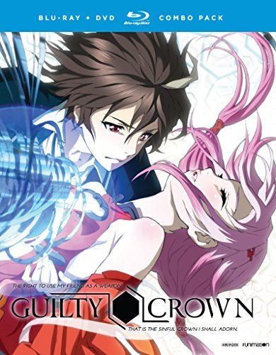 Guilty Crown The Complete Series Blu Ray DVD Nr