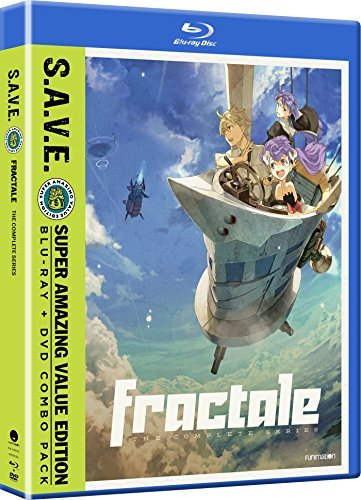 Fractale The Complete Series Blu Ray