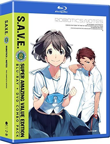 Robotics & Notes Complete Series Blu Ray Nr