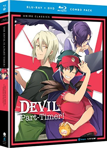 The Devil Is A Part Timer Complete Series Blu Ray DVD