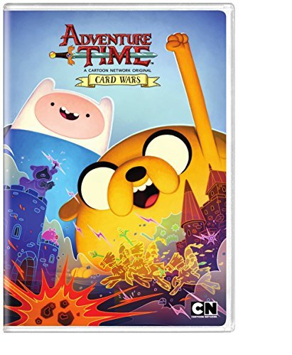 Adventure Time Card Wars DVD