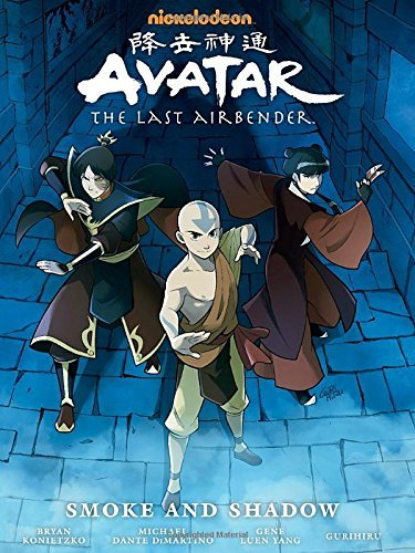 Nickelodeon Avatar The Last Airbender Smoke And Shadow Library