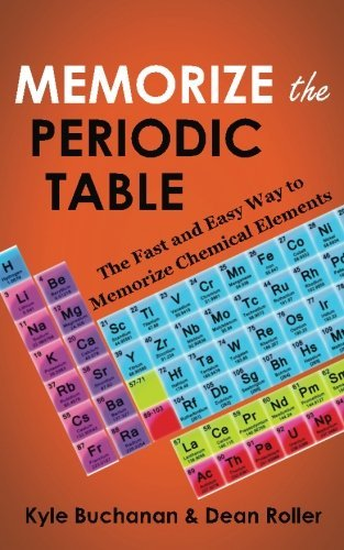 Kyle Buchanan Memorize The Periodic Table The Fast And Easy Way To Memorize Chemical Elemen
