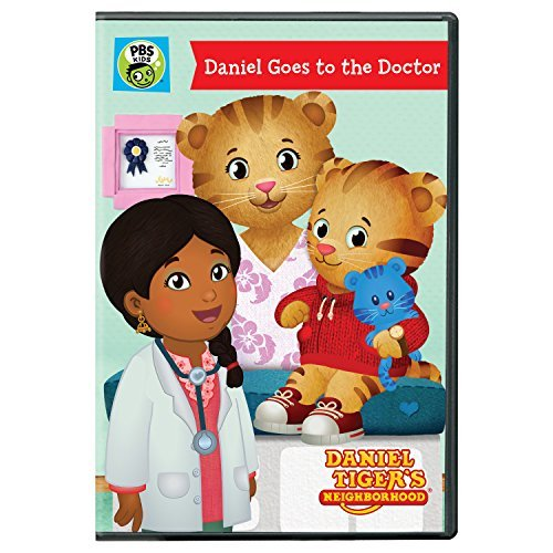 Daniel Tiger's Neighborhood Daniel Goes To The Doctor DVD