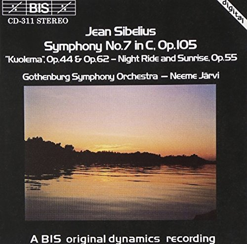 J. Sibelius Sym 7 Kuolema Incl Valse Trist Jarvi Gothenburg So