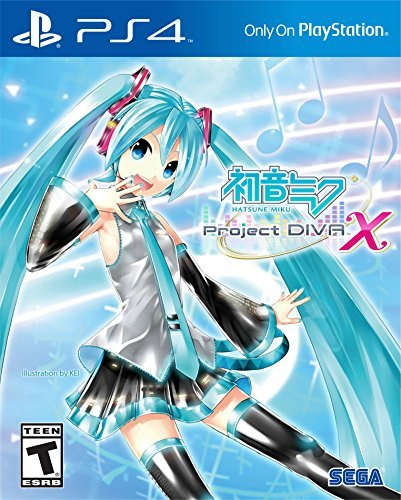 Ps4 Hatsune Miku Project Diva X (launch Edition)