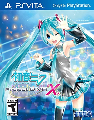 Playstation Vita Hatsune Miku Project Diva X