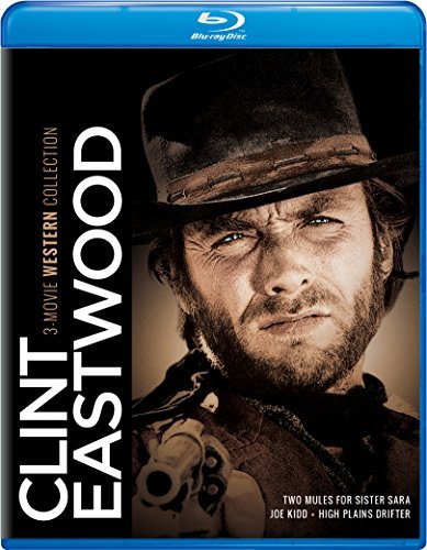 Clint Eastwood 3 Movie Western Collection Blu Ray