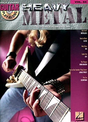 Hal Leonard Corp. Heavy Metal Vol.54 Bk CD Guitar Play Along