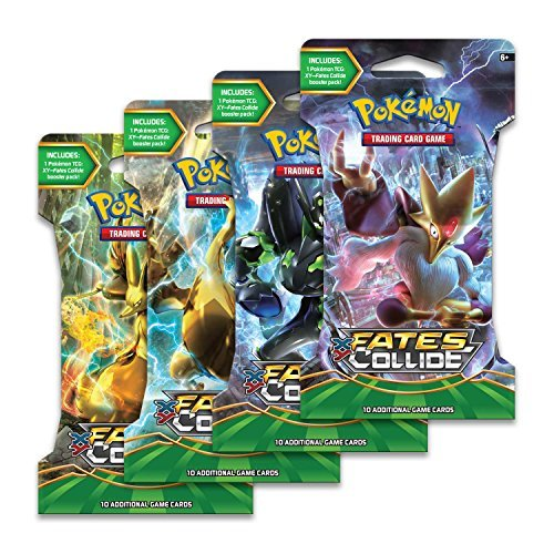 Pokemon Cards Fates Collide Booster Pack