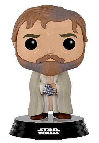 Toy Pop Star Wars Ep7 Luke Skywalker (bearded Robe)