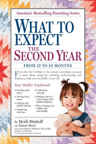 Heidi Murkoff What To Expect The Second Year From 12 To 24 Months