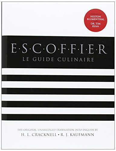 H. L. Cracknell Escoffier Le Guide Culinaire 0002 Edition;