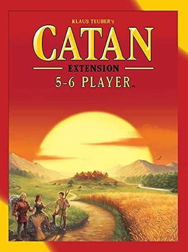 Catan 5 6 Player Expansion Settlers Of Catan