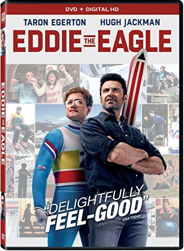 Eddie The Eagle Egerton Jackman DVD Dc Pg13
