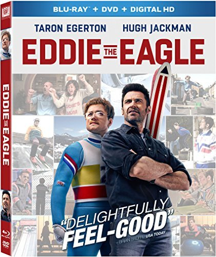 Eddie The Eagle Egerton Jackman Blu Ray DVD Dc Pg13