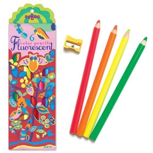 Toy Owl Fluorescent Pencil