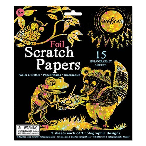 Scratch Papers Foil 15 Holographic Sheets