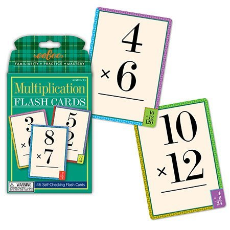 Toy Flash Cards Multiplication