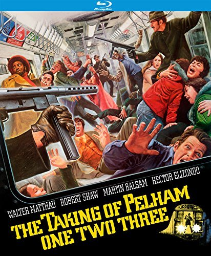 Taking Of Pelham One Two Three (1974) Matthau Shaw Blu Ray R