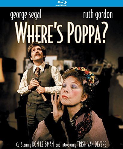 Where's Poppa? Segal Gordon Blu Ray R