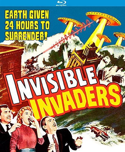 Invisible Invaders (1959) Agar Byron Blu Ray Nr