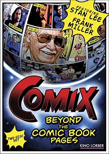 Comix Beyond The Comic Book Pages Comix Beyond The Comic Book Pages DVD R