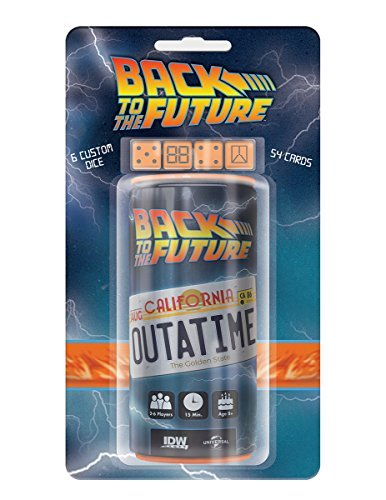 Dice Game Back To The Future Outatime Dice Game