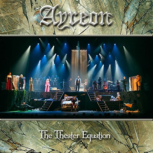 Ayreon Theater Equation 2cd 1blu Ray