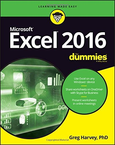 Greg Harvey Excel 2016 For Dummies