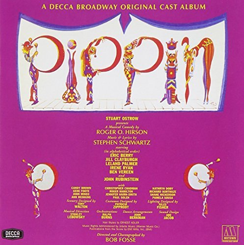 Cast Recording Pippin Music By Stephen Schwartz