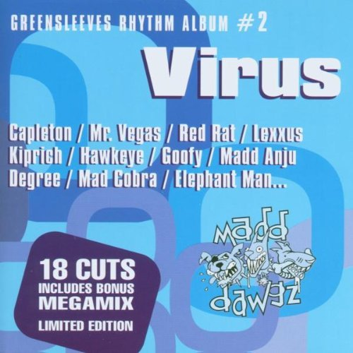 Greensleeves Rhythm Album Vol. 2 Virus Explicit Capleton Read Rat Degree Greensleeves Rhythm Album