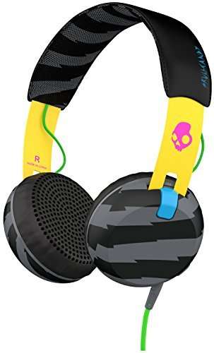 Headphones Grind Locals Only Yellow Black