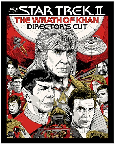 Star Trek Ii The Wrath Of Khan Shatner Nimoy Blu Ray Pg Director's Edition