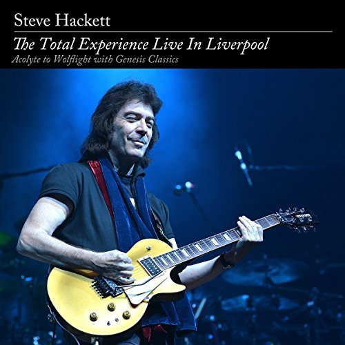 Steve Hackett Total Experience Live In Liverpool 2 CD 2 DVD Combo