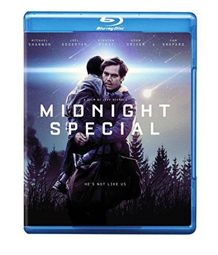 Midnight Special Shannon Edgerton Dunst Driver Blu Ray Dc Pg13