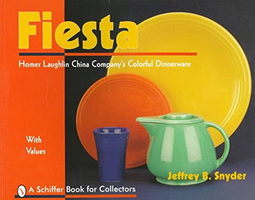 Jeffrey B. Snyder Fiesta The Homer Laughlin China Company's Colorful Dinnerware