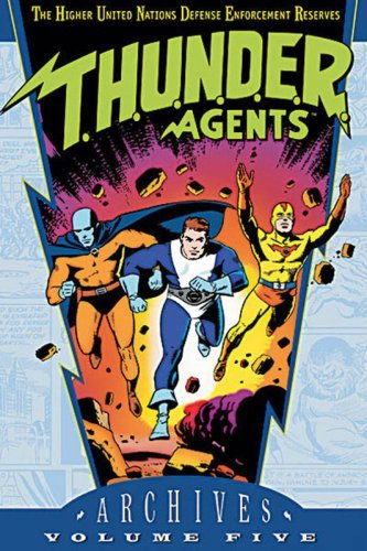 Dc Comics T.H.U.N.D.E.R. Agents Archives