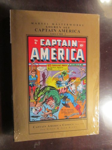 Marvel Comics Marvel Masterworks Golden Age Captain America Vol. 2