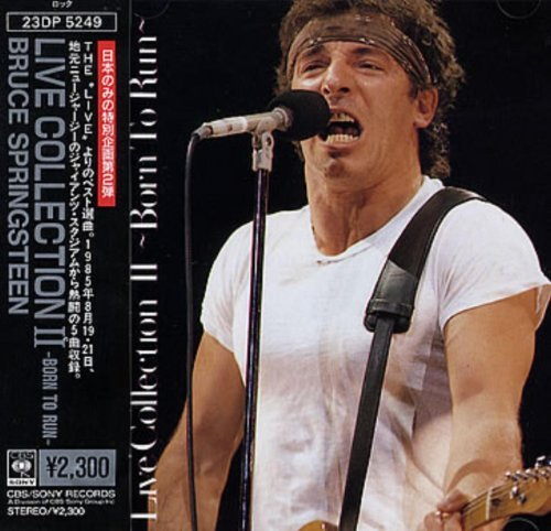 Bruce Springsteen Live Collection Ii Born To Run
