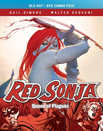 Red Sonja Queen Of Plagues Simone Lee Geovani Blu Ray DVD Ur
