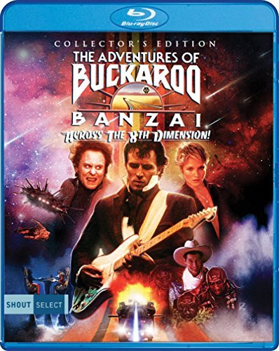 Adventures Of Buckaroo Banzai Across The 8th Dimension Weller Barkin Goldblum Lloyd Blu Ray Pg